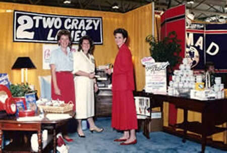 Two Crazy Ladies first roadshow