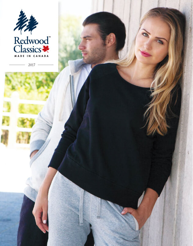 man and woman modelling sweater